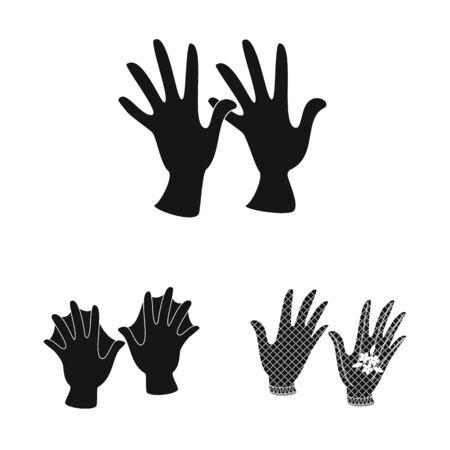 Vector illustration of warm and comfort symbol. Set of warm and style stock vector illustration.  イラスト・ベクター素材