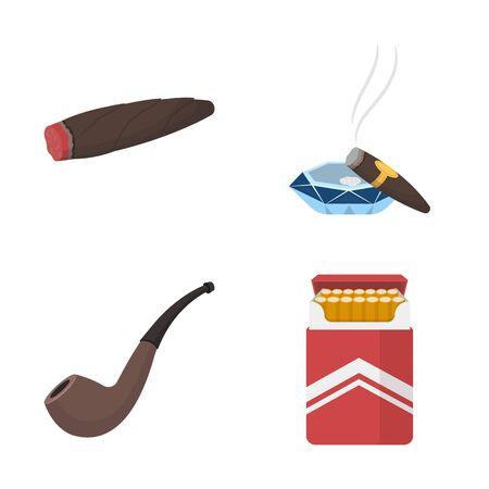 bitmap illustration of smoke and no symbol. Collection of smoke and stop stock bitmap illustration. Фото со стока