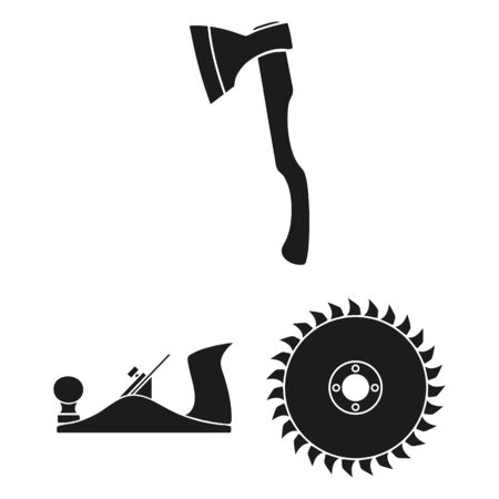 bitmap illustration of tool and construction. Set of tool and carpentry bitmap icon for stock.