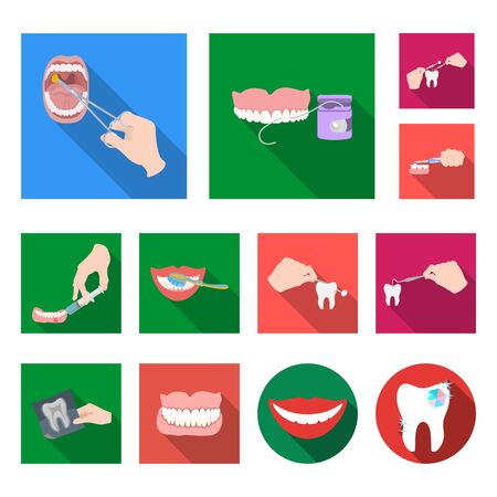 bitmap illustration of tooth and happy. Collection of tooth and whitening bitmap icon for stock. 写真素材