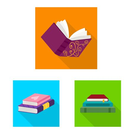 Vector design of illustration and information icon. Set of illustration and cover stock vector illustration.