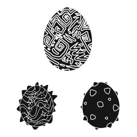 Vector illustration of fantastic and cute symbol. Collection of fantastic and magic stock vector illustration.