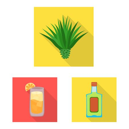 Vector illustration of party and celebration. Collection of party and Latin vector icon for stock. 向量圖像