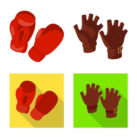 Vector illustration of silhouette and safety. Collection of silhouette and comfort vector icon for stock. Illustration