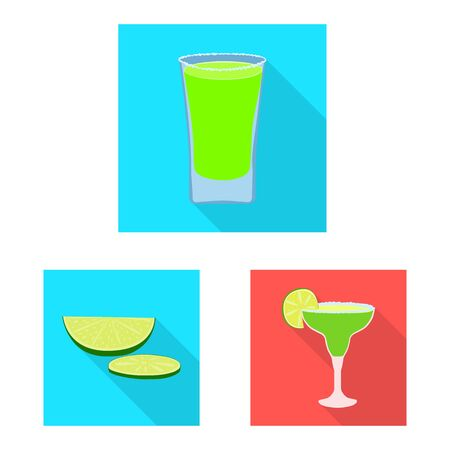 Vector illustration of party and celebration symbol. Collection of party and Latin vector icon for stock. 向量圖像