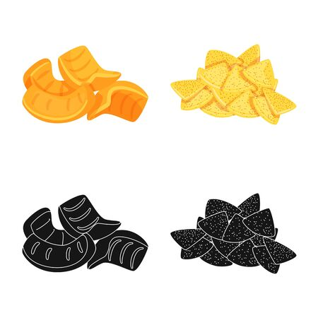 Vector illustration of Oktoberfest and bar logo. Set of Oktoberfest and cooking stock vector illustration. Illustration