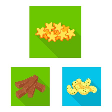 Isolated object of Oktoberfest and bar symbol. Collection of Oktoberfest and cooking vector icon for stock.