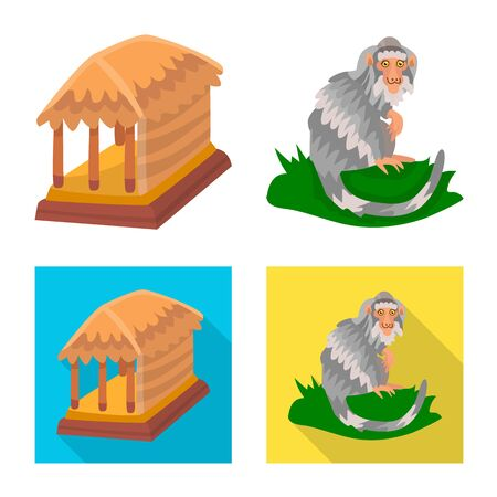 Vector illustration of and travel icon. Set of and traditional stock symbol for web.
