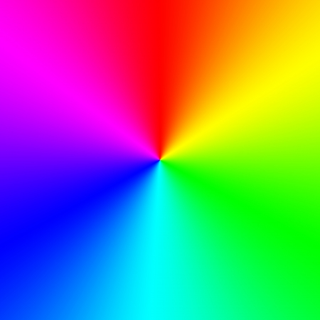 ultraviolet: Rainbow spectral circle gradient Stock Photo