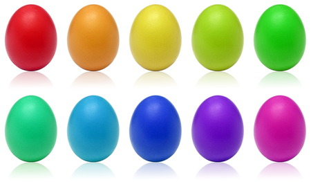 Rainbow eggs photo