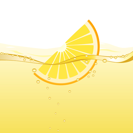 Orange drink Vector