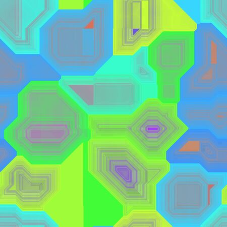 colorized: Circuits abstract seamless generated hires texture