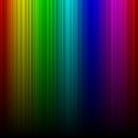 spectral: Rainbow aurora spectral gradient