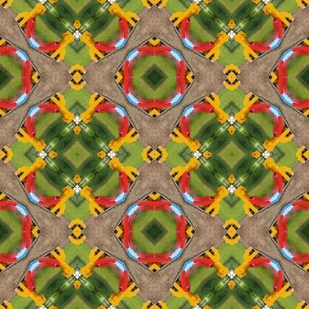 generative: Kaleidoscopic playground seamless generated texture