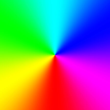 spectral: Rainbow spectral circle gradient Stock Photo