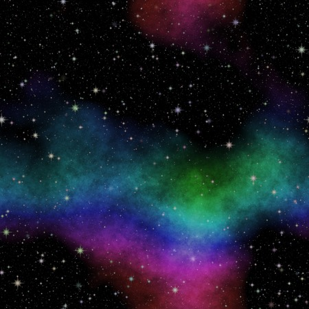 Abstract stars nebula seamless generated hires texture photo