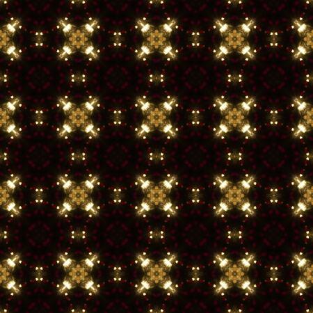 Kaleidoscopic sunset seamless generated texture Stock Photo - 31820425