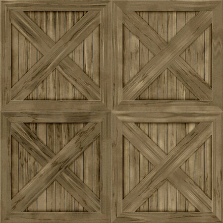 hires: Wood crate generated hires texture
