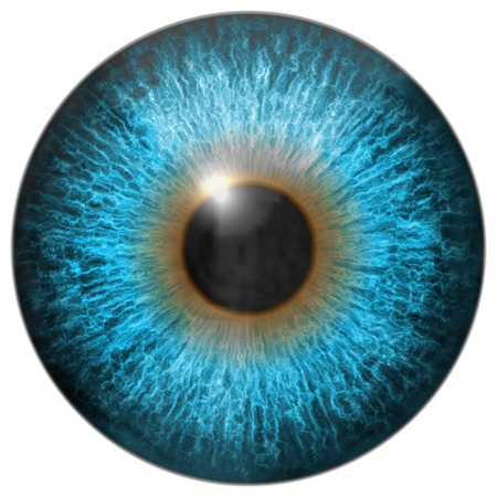 Eye iris generated hires texture Stock Photo