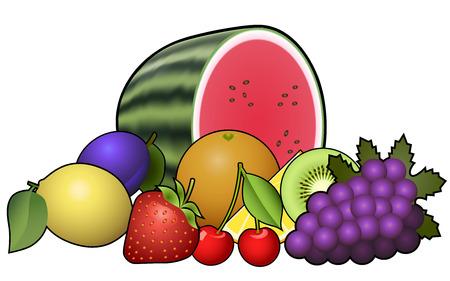heap: Fruits heap