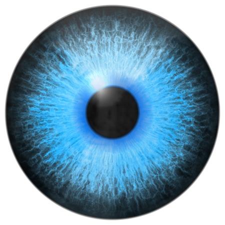 Eye iris generated hires texture Foto de archivo