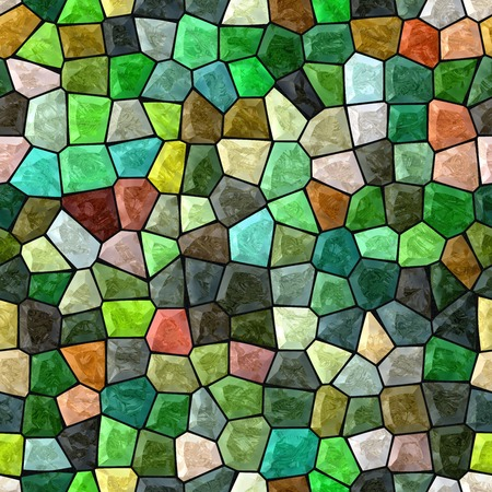 Glass mosaic seamless generated hires texture Stockfoto