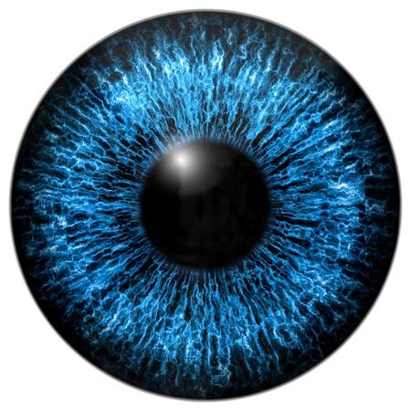 目の虹彩はハイレゾ テクスチャを生成