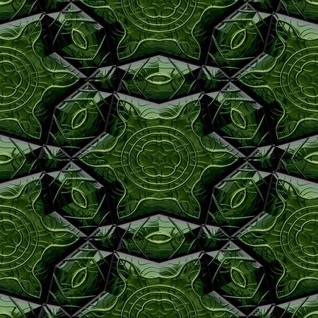 Mayan ornaments seamless hires generated texture photo