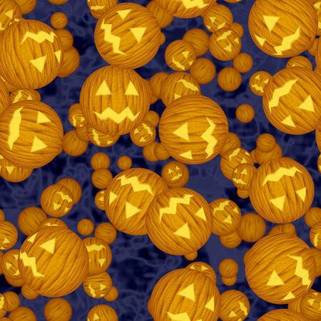 Halloween virus seamless generated hires texture photo