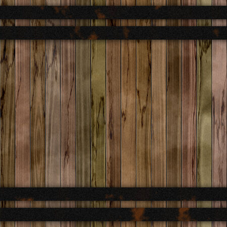 wood fences: Wood barrel generated seamless hires texture