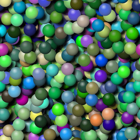 Balls seamless generated hires texture Stock Photo