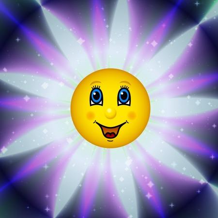 to bloom: Happy bloom sun Stock Photo