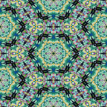 Kaleidoscopic seamless generated texture Stock Photo - 33977153