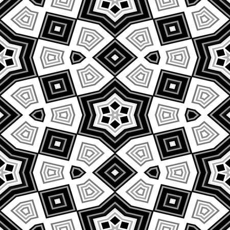 Cubes kaleidoscopic seamless generated texture