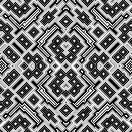 kaleidoscopic: Cubes kaleidoscopic seamless generated texture
