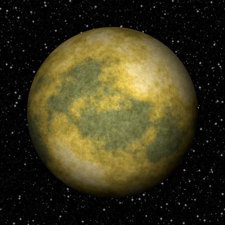 wereldbol: Abstract planeet Pluto gegenereerde textuur achtergrond Stockfoto