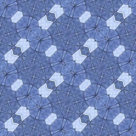 generative: Glass mosaic kaleidoscopic seamless generated hires texture