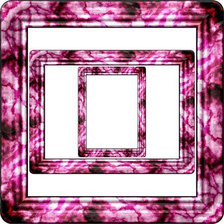 Marble picture frame generated isolated texture photo