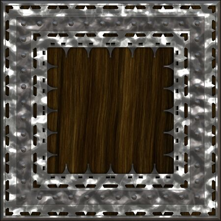 armoured: Armoured wooden crate generated texture