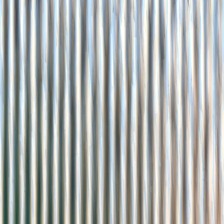 corrugated iron: Corrugated iron sheet generated texture Stock Photo