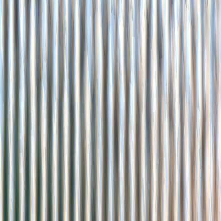 Corrugated iron sheet generated texture Stock Photo