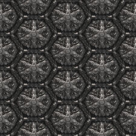 generated: Metal pattern generated texture