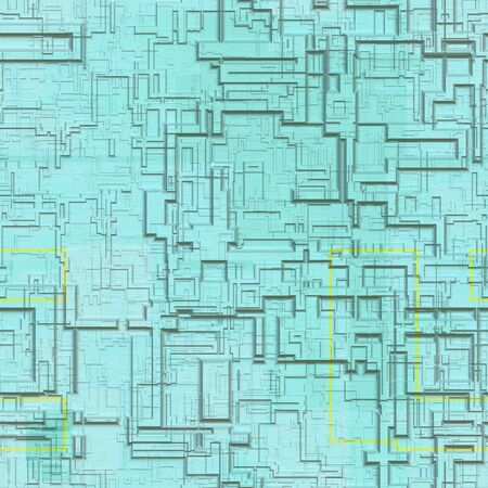 genetic material: Circuits abstract seamless generated texture