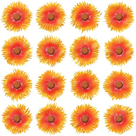 to bloom: Bloom set generated texture Stock Photo