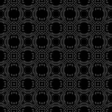 generated: Floral seamless generated texture