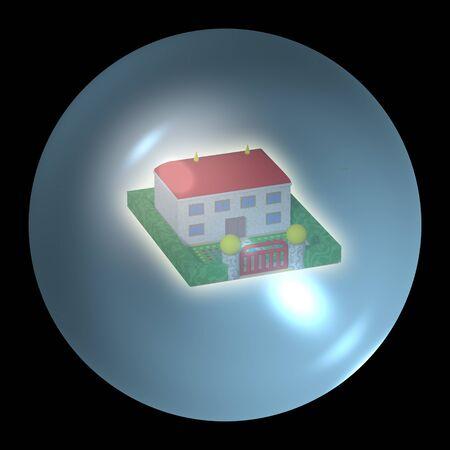 fortuna: Fortune teller crystal ball