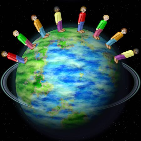 nationalities: Nationalities on Earth globe