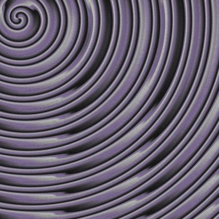 generative: Metal spiral generated texture