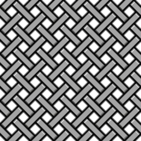 Metal pattern generated seamless texture Stock Photo
