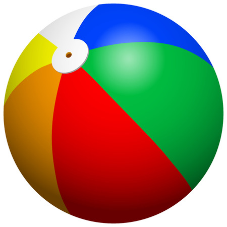 Beach Ball Standard-Bild - 40624864